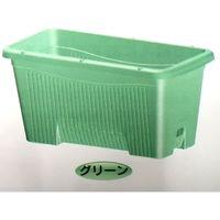 安全興業 AZ菜園プランター深型600 グリーン支柱設置パーツ付 4573401042291-7 1箱(7個入)(直送品)