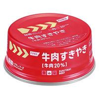 【非常食】 ホリカフーズ レスキューフーズ 牛肉すきやき 1箱(24缶入)