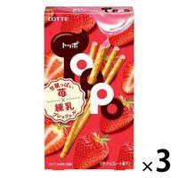 苺トッポ 3個 ロッテ チョコレート