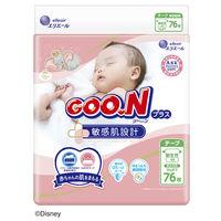 グーンプラス おむつ テープ 敏感肌設計 新生児(~5kg) 1パック(88枚入) 大王製紙の画像
