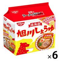 日清のラーメン屋さん 旭川しょうゆ味 1箱(30食:5食入×6袋)