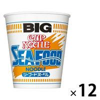 日清 カップヌードル シーフード ビッグ 1箱(12食入)