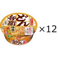 日清のどん兵衛 特盛かき揚げ天ぷらうどん 1箱(12食入)