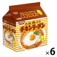 日清チキンラーメン 1箱(30食:5食入×6袋)