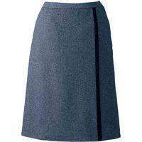 ヤギコーポレーション Aラインスカート ネイビー 17号 U9023 1枚(取寄品)