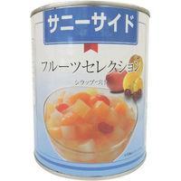 石光商事 サニーサイド 中国産フルーツセレクション 2号缶X12 4971181190810 12缶(直送品)