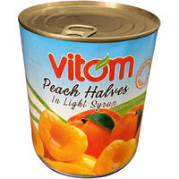 VITOM 黄桃ハーフ 820gX12 5206769110034 12缶(直送品)