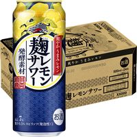 キリン 麹レモンサワー 500ml×24