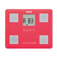タニタ体重体組成計ピンク軽量 コンパクト