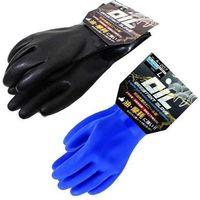 おたふく手袋 A-207 LL 黒 PVCオイルレジスタント 1P裸 1双(直送品)