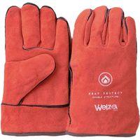 おたふく手袋 W-0510R ウェルザ5本指手袋レッド フリー 1双(直送品)