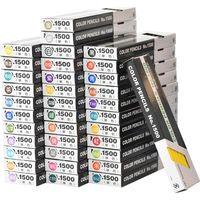 トンボ鉛筆 色鉛筆1500セット 36色×各12本 合計432本 1500-36CS 1セット(直送品)