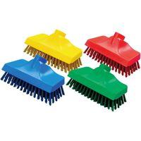 高砂 HPMデッキ磁性ブラシヘッド赤 57247 5個セット(取寄品)