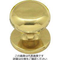 和気産業 真鍮つまみ ゴールド 25mm×25mm×25mm IK-258 1セット(2個)(直送品)