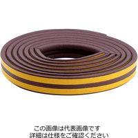 和気産業 スポンジシールP型 2.2m ブラウン WSG-031 1セット(2巻)(直送品)