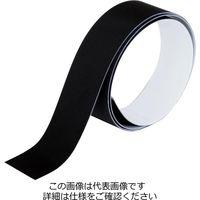 和気産業 布用反射テープ 黒 18mmx0.5m AHW132 1セット(1m:0.5m×2巻)(直送品)