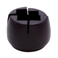 和気産業 ワイドスリップキャップ角脚用 Lサイズ 4個入 GK-906 1セット(4個)(直送品)