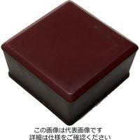 和気産業 家具のスベリ材 角キャップ 3L 2個入 Cwe-033 1セット(4個:2個×2パック)(直送品)