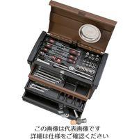 京都機械工具 KTC 2017SK EKR-113特別色セット(ランドブラウン×ブラック) SK36617ELBW 1セット 828-9694(直送品)