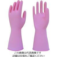 東和コーポレーション トワロン 天然ゴム手袋 天然ゴムうす手 ピンク M 217-M 1双 204-4023(直送品)