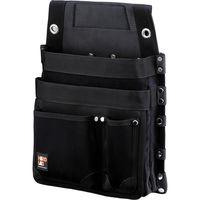コヅチ ハードラボ 仮枠釘袋鋲止めマチ付 ブラック HL-307B 1個(直送品)