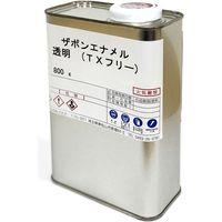 【金属保護塗料】 江戸川合成 ザボンエナメル(TXフリー) 透明 112-001000-33 1缶(直送品)