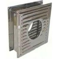 イチカワ ステンレス製煙突部品枠付き換気板Φ106mm 4920062012109 1個(直送品)