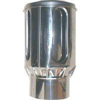 イチカワ ステンレス製煙突部品トップΦ100mm 4920062111079 1個(直送品)