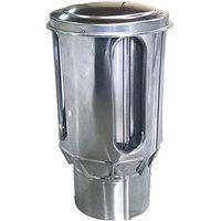 イチカワ ステンレス製煙突部品トップΦ110mm 4920062113073 1個(直送品)