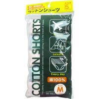 ヨック コットンショーツ 綿100% 女性用 Mサイズ 5枚入 5枚入×6セット(直送品)