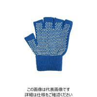カヴァーワーク(COVER WORK) COVER WORK のびのび5本指切手袋 すべり止め付 フリー ブルー FT-3135(直送品)