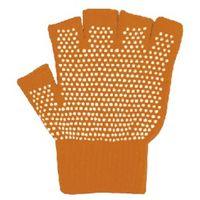 カヴァーワーク(COVER WORK) COVER WORK のびのび5本指切手袋 すべり止め付 フリー オレンジ FT-3135(直送品)