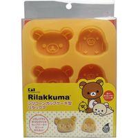 貝印 シリコーンカップケーキ型 リラックマ&キイロイトリ 1個入×5セット(直送品)
