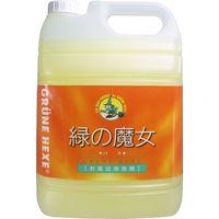 ミマスクリーンケア 緑の魔女 バス用洗剤 業務用 5L 5L×3セット(直送品)