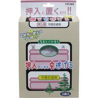 トーヤク 置くだけで嫌な虫逃げる 押入れ用 青森ヒバの香り 50g×2袋入 2袋入×10セット(直送品)