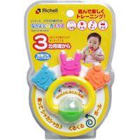 リッチェル ガラガラ歯がため なかよしカミカミ 1個入×6セット(直送品)