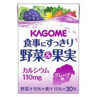 食事にすっきり野菜&果実カルシウム グレープ味 100ml×36本 紙パック