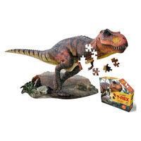 Madd Capp Puzzles(マッドキャップパズル)アニマルビッグパズル ティラノザウルス 100ピース 1個 ダッドウェイ ギフトの画像