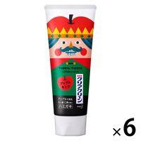数量限定デザイン クリアクリーン アップルの香味 120g 1セット(6本) 花王 歯磨き粉 虫歯・口臭・歯肉炎予防の画像