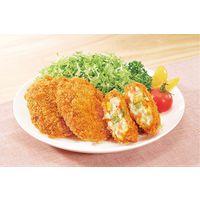 味のちぬや 業務用 さめてもおいしいコロッケ野菜 17823 1ケース (75gX10個)×6PC(直送品)