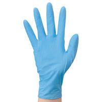 エステー モデルローブ No991 使いきりニトリル手袋 粉なし SS ブルー 1箱(100枚入)(わけあり品)