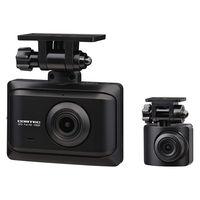 コムテック 2カメドライブレコーダー ZDR-016 1台