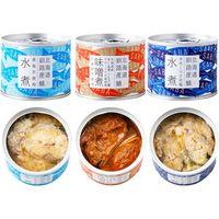 ノフレ食品 北海道産 鯖缶ギフトセット 6入り sabakan 1セット(6個)(直送品)