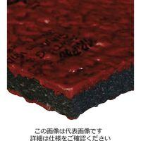 WATTELEZ(ワテレ) 防振マット グリップソル 赤 11(1マイ) 50.00.01 1枚(直送品)