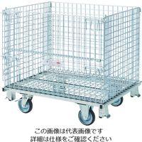 テイモー(TEIMO) テイモー ボックスパレットゴム車輪付き C-508E 1台 795-4565(直送品)