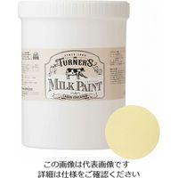 ターナー色彩 ミルクペイント 1.2L ハニーマスタード 4993453010114 1個(1200mL)(直送品)
