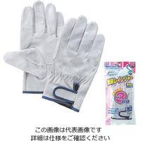 富士グローブ 豚皮レインジャー型 アテ付 3双組 L NO.3-500 1セット(18双:3双×6パック)(直送品)