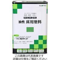 アトムサポート(アトムハウスペイント) 油性床用塗料 14L ライムグリーン 4971544023342 1缶(14000mL)(直送品)