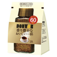 ドトールコーヒー インスタントコーヒー袋 香り豊かなおいしい一杯 1袋(120g)