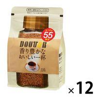 ドトールコーヒー インスタントコーヒー袋 香り豊かなおいしい一杯 1箱(120g×12袋)